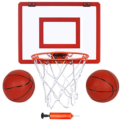 Indoor Mini Basketball Hoop and Balls 16 'x12 - Basketball Hoop for...