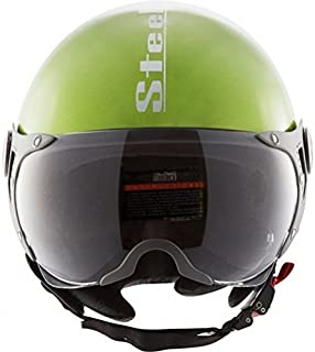 Steelbird SB-27 Style Mat Y. Green with plain visor,600 mm