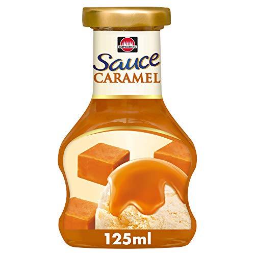 Schwartau Dessert Sauce Caramel, 8er Pack (8 x 125 g)