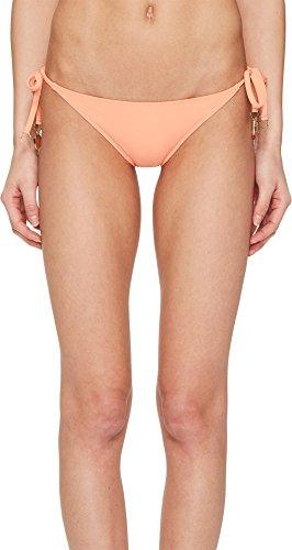 Stella McCartney Women's Timeless Basics Tie Side Bikini Bottom Faded Coral Small