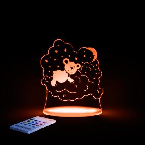 Bear Aloka Sleepy Night Light 12 LED colors