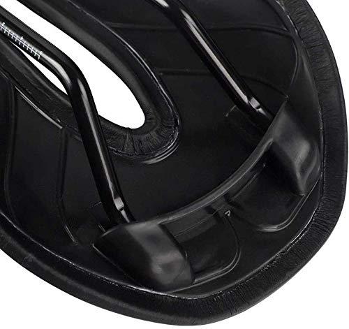 KSW_KKW Mountain Bike Accessori della Bici Sedile Sella della Bicicletta Morbida Adatto Confortevole for Mountain Bike Outdoor Strada Pieghevoli, Sella della Bicicletta (Color : Black)