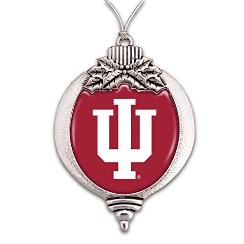 MadSportsStuff University of Indiana Hoosiers Christmas Ornament