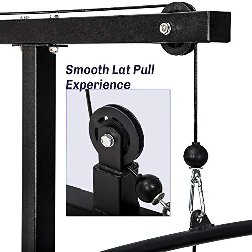 Merax Lat Pulldown Low Row Cable Machine
