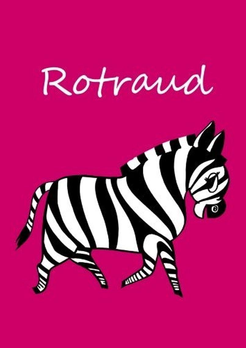 マウス髄火山学Rotraud: individualisiertes Malbuch / Notizbuch / Tagebuch - Zebra - A4 - blanko