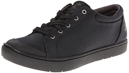 MOZO Women's The Maven-Canvas-W, Black 8.5 M US