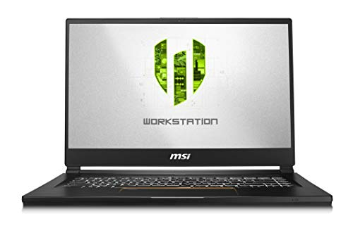 "MSI WS65 9TM-857 15.6"" UHD Thin and Light Mobile Workstation Intel Core i7-9750H Quadro RTX 5000 32GB 1TB NVMe SSD Win10 Pro TPM2.0 TB3 Fingerprint"