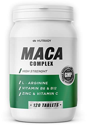 120 COMPRESSE [ 7000mg ] Maca + L-Arginina | [ FORMULA AGGIORNATA ] Azione Rapida e Potente | Made in Italy | Maca Peruviana, L Arginina, Vitamina C, B6, B12 e Zinco