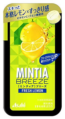 アサヒグループ食品 ミンティアブリーズ フレッシュレモン 30粒 ×8個