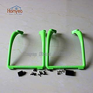 Part & Accessories heat Sale product Upgrade Landing Gear Landing Skids X8C X8W X8G X8HC X8HW X8HG BAYANGTOYS X16 RC Quadcopter Drone spare parts - (Color: GREEN)