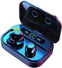 True Wireless Earbuds,IPX7 Waterproof Sport Smart Touch Headphones of Small Y12 in-Ear Earphones Bluetooth 5.0 Stereo Hi-F...