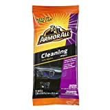 Armor All Car Interior Cleaner Wipes for Dirt & Dust - for Cars & Truck & Motorcycle, 20 Count, 18242W
