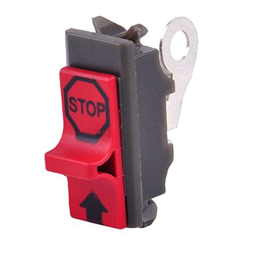 Gas de sierra de cadena del Motor Motor Kill Stop Interruptor de encendido de de Fit para Husqvarna 414250515561