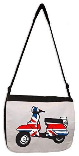 Mod Scooter Laptop Messenger Bag