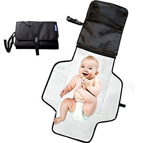 Cambiador bebe portatil para cambiar de pañales o ropa al bebé. Bolso...