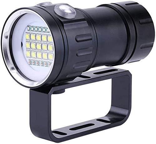 Nologo Salto de la Linterna 18.000 lúmenes IPX8 el Buceo bajo el Agua 500M Luces Linterna LED subacuático al Aire Libre Deportes de Buceo Luces Focos Linterna