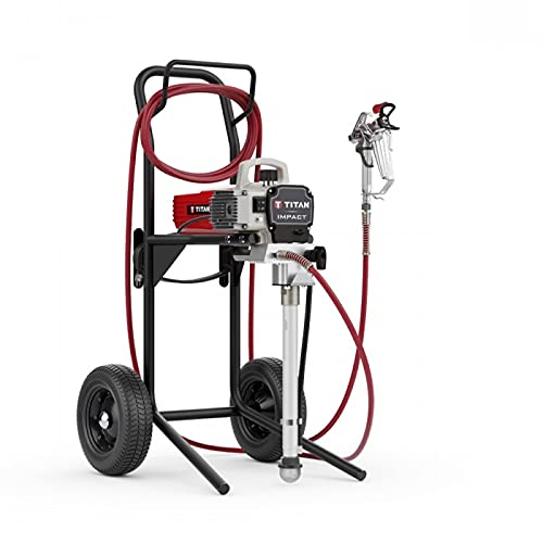 Titan Impact 410 High Rider Airless Sprayer 110V with 2 HEA 413 Tips