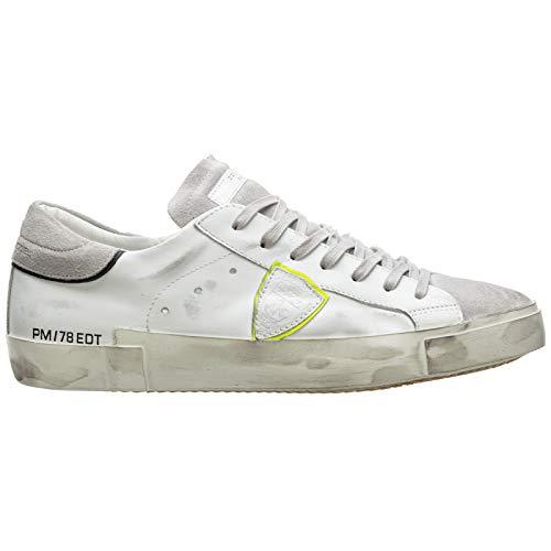 Philippe Model Herren Paris Sneaker Bianco 41 EU