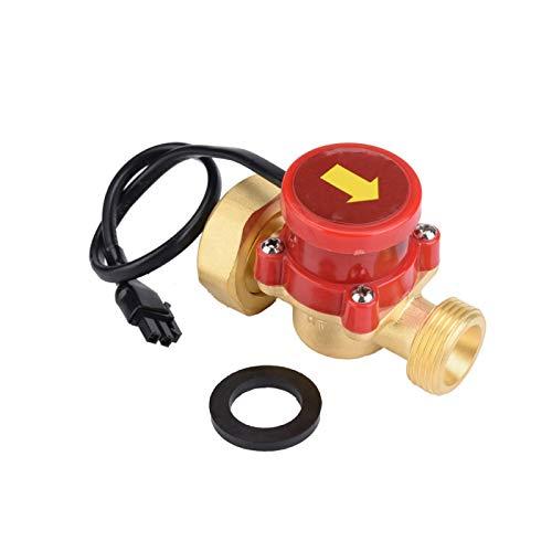Interruptor de control de flujo G1-G3 / 4 Control de flujo de agua Interruptor de flujo de agua Rosca Rendimiento estable Baja presión de agua 220 V para la familia de áreas de baja presión