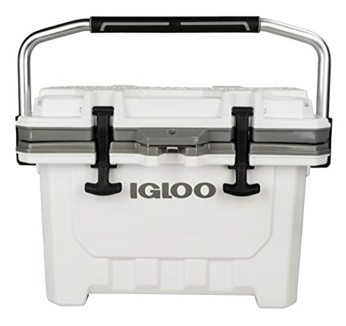 Igloo IMX 24 Quart Lockable Insulated Ice Chest Roto-Molded Cooler with Carry Handle