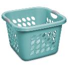 Sterilite 1.5 Bushel/53 L Ultra™ Square Laundry Basket, Teal Splash - Walmart.com