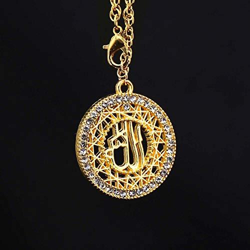 NUIOsdz Car Pendant islam muslim Allah Hanging Ornaments Automobiles Rearview Mirror Suspension Decoration