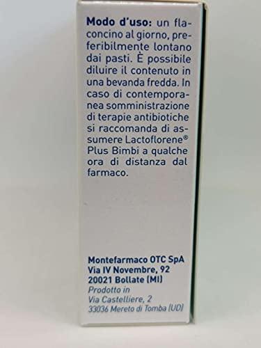 Montefarmaco Lactoflorene Plus Bimbi 6 Flaconcini - 50 Gr