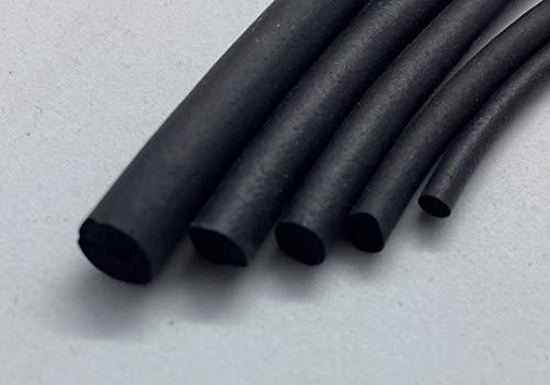 1x Meter Rundschnur Moosgummi Fugenprofil Rundprofil Fügendichtband EPDM schwarz Ø 6mm 1C16-04