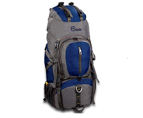 Buy Easies 60 Ltr Grey & Blue Rucksack