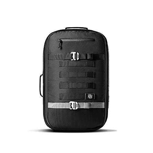 "HEIMPLANET Original | Monolith Daypack Rucksack 22L | Handgepäck geeignet - Optimaler Travel Bag | Inkl. 15"" Laptopfach | Auch als Messenger Bag verwendbar | PVC-Frei"
