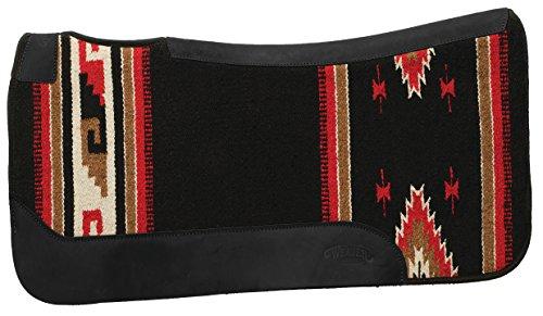 Weaver Leather Contoured Single Weave Felt Pad, Black Pattern