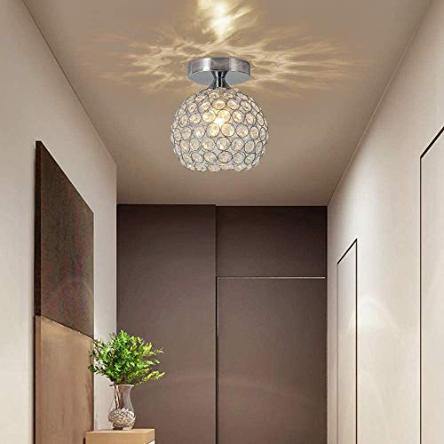 DAXGD Lampade Da Soffitto LED, Moderna Luce Del Soffitto Creativa Plafoniera Lampadario Per Corridoio, Scale, Ingresso, E27 Gap Diametro: 18 cm