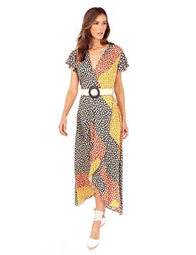 Anna Mora Vestido Estampado Floral para Mujer 42