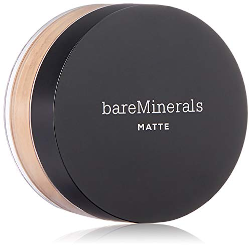 bareMinerals Matte Foundation Broad Spectrum SPF 15 Foundation, Golden Tan, 0.21 Ounce (Pack of 1) (0.21 Ounce Foundation)
