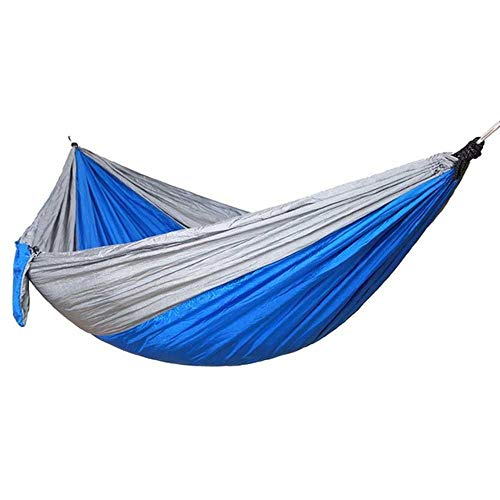 NOBRAND Double &Amp; Single 260 * 140Cm Tree Hammocks Camping Indoor Outdoor Portable Parachute Hammocks For Backpacking Survival Travel