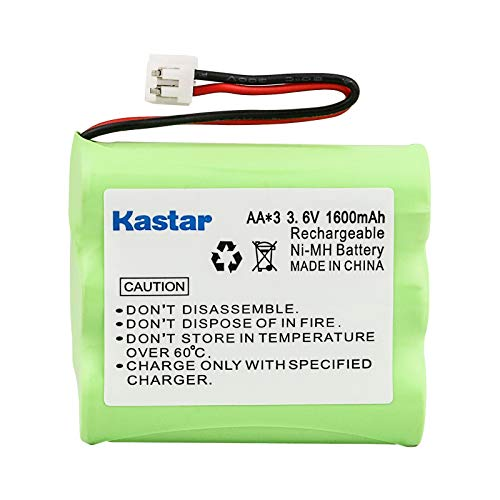 Kastar 1-Pack Battery Replacement for Extend-A-Phone DAA600BX3, Philips SJB4152, PLANTRONICS Clarity 435, SANIK 3SNAA60SJ1, 3SN-AA80-S-J1, 3SNAA80SJ1, SANYO GESPCF03, S-PCF03