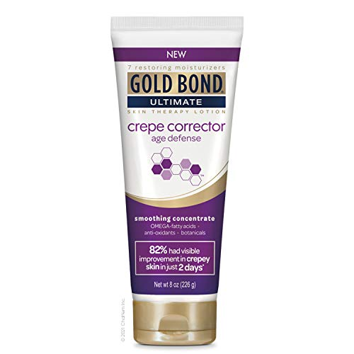 Gold Bond, Ultimate Crepe Corrector 8 oz Age Defense Smoothing Concentrate Skin Therapy Lotion