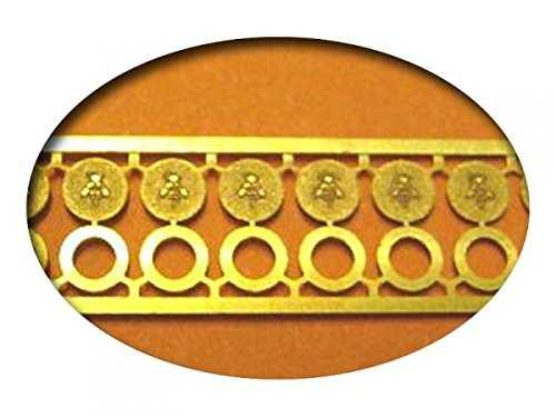 PTLBAHN 930002 - DDR-Embleme 4mm -H0, TT, N, Z-