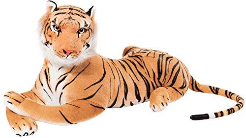 Brubaker Peluche Tigre de Color marrón de 110 cm