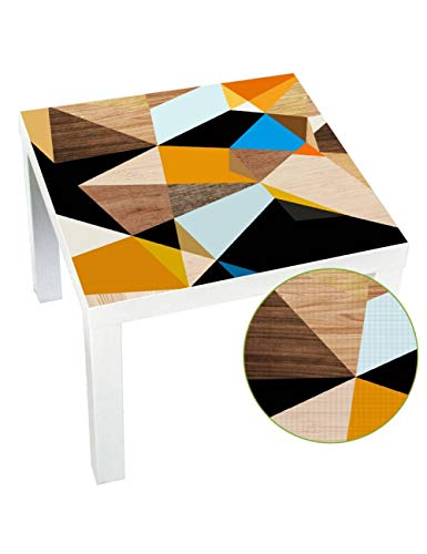 GCXAA 55X55 cm DIY Küchentisch Aufkleber Tuch Wasserdicht Abnehmbare Peel Und Stick Möbel Wandaufkleber Mangel Tischplatten Schreibtisch