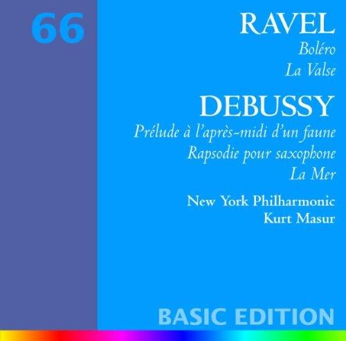 La Valse / Prelude à l'apres-midi d'un faune / La mer / Rapsodie pour saxophone et orchestre