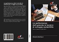La performance dell'azienda in termini di sviluppo sostenibile: verso un approccio alternativo