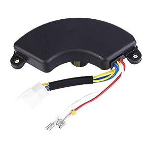 Fictory 250V 470UF Generador Regulador de Voltaje automático AVR Universal Compatible con 5-6.5KW Generador Generador Regulador de Voltaje automático