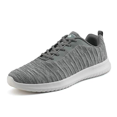 DREAM PAIRS Bruno Marc Ease_02 Men's Athletic Walking Shoes Sneakers Grey Size 6.5 M US