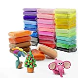 36 Colors Air Dry Clay, Magical Light Modeling Clay, Creative Art DIY Crafts Clay Dough as Great Gift, Safe and Fun Toy