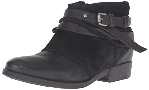 Miz Mooz Women's Danita Ankle Bootie, Forest, 36 M EU (5.5-6 US)