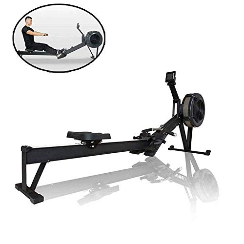 Rudergerät Haushalt Indoor Intelligent Stille Folding Rudergerät Innenbauch Brust Arm Fitnessgeräte geeignet for Fitnessübung HAOSHUAI