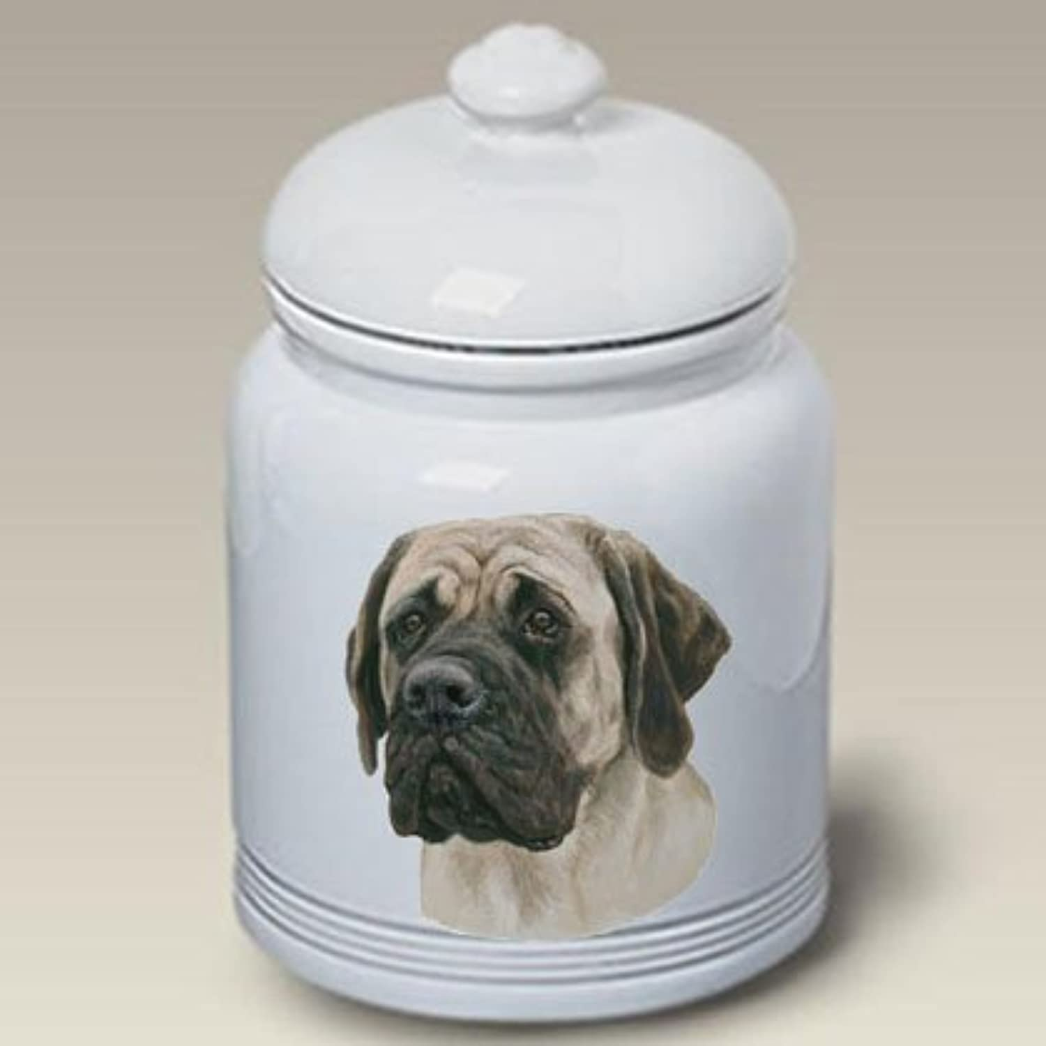 Best of Breed Mastiff  Linda Picken Treat Jar