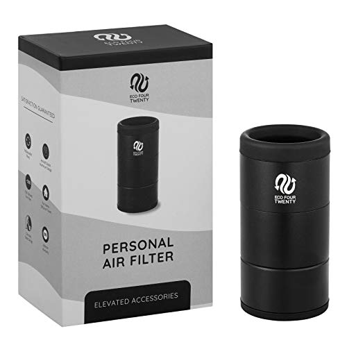 Eco Four Twenty Personal Air Filter Aluminum Personal Air Purifier and Sploof