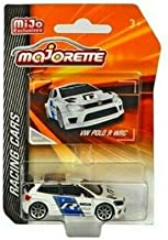 New DIECAST Toys CAR MAJORETTE 1:64 Racing Cars - Volkswagen Polo R WRC (White) - MIJO Exclusives 4009MJ3